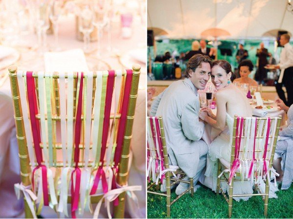 Украсить стулья на свадьбу своими руками