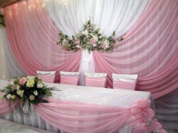 Как украсить место для свадьбы