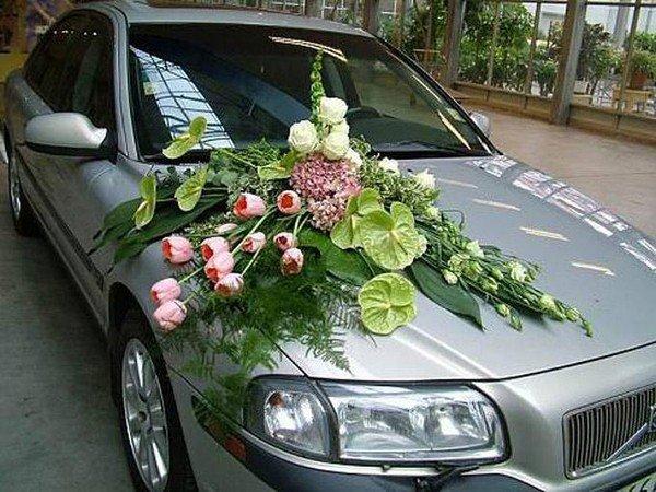 Украшение лентами свадебные машины своими руками фото фото 398