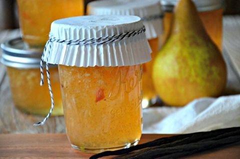 рецепты варенья из домашних груш