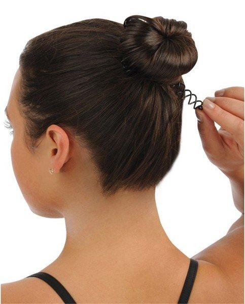 Как сделать из не из густых волос пучок чтобы был густой