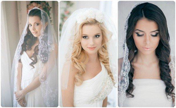 Прически на свадьбу с распущенными волосами для гостей