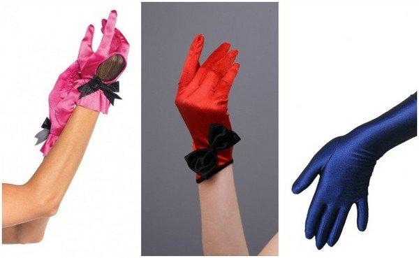 Какие перчатки выбрать на свадьбу: фото
