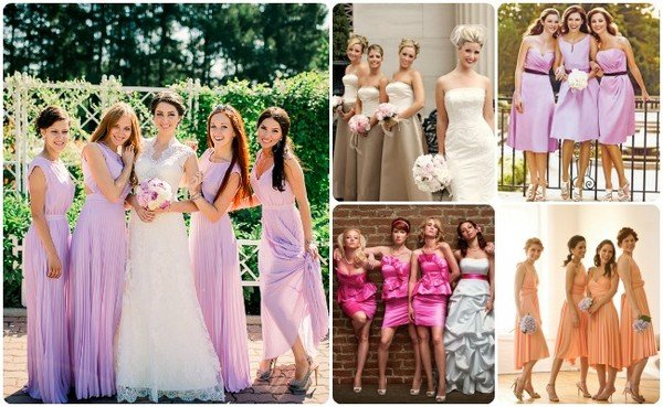 В какой цвет делать свадьбу