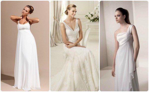 Платье на свадьбу для беременной невесты