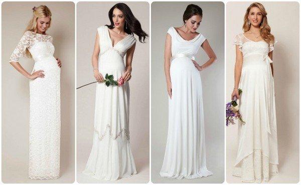 Картинки по запросу Для беременных невест – самые красивые платья