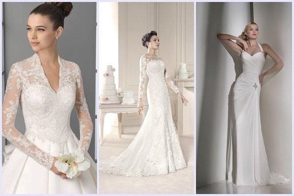 Платья для венчания в картинках