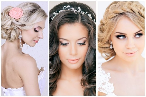 Свадебные Прически На Длинные Волосы - фото Красивые Нежная прическа на длинные волосы коса
