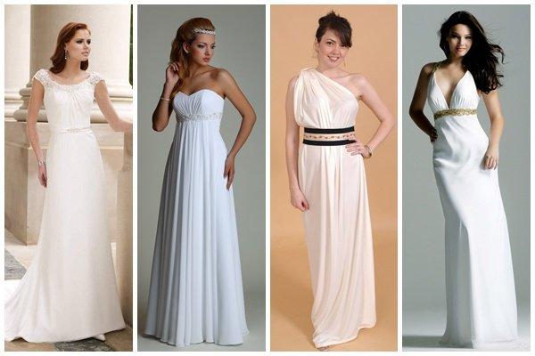 Свадебные платья в греческом стиле фото лучших моделей