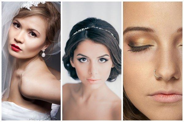 Свадебный макияж для карих глаз: фото, советы брюнеткам, отзывы 62