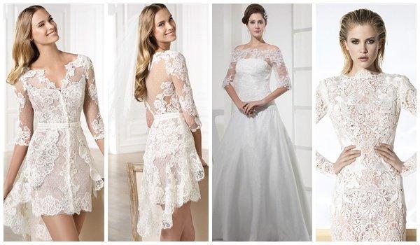 Кружево для пошива свадебных платьев