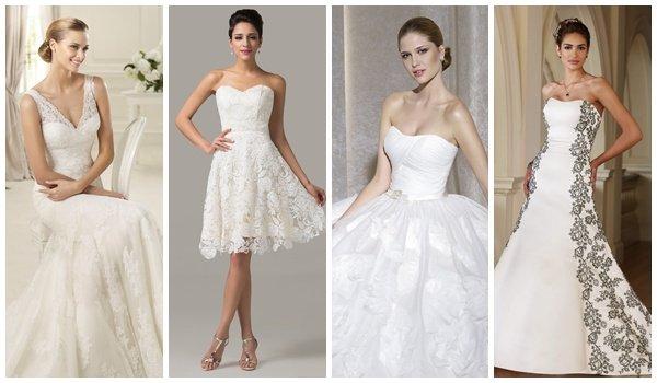Какое нужно платье выходя замуж