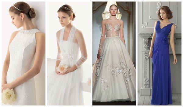 Свадебные платья на второй брак фото