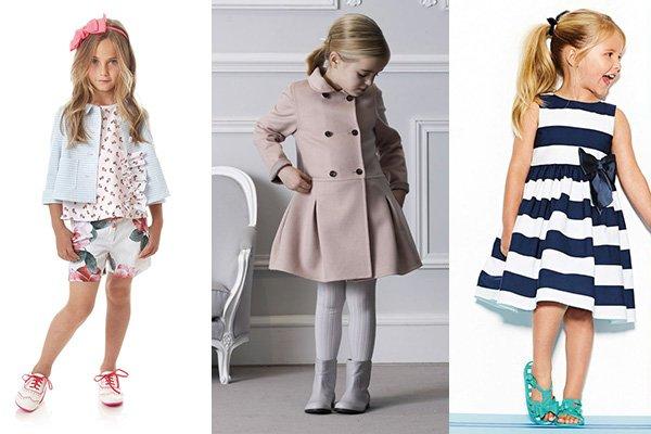 Модная зимняя одежда для девочек 2015