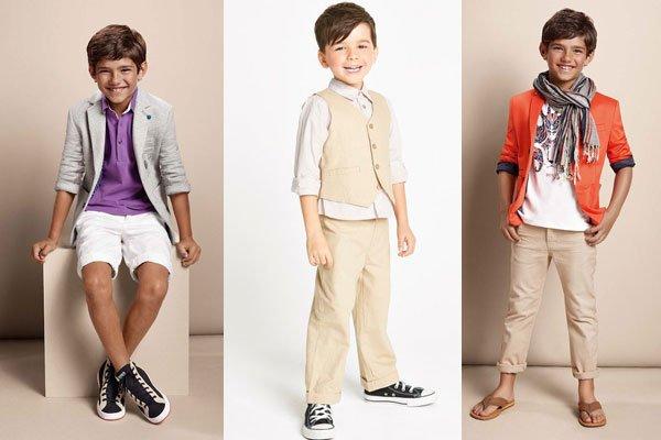 Летние костюмы для мальчиков