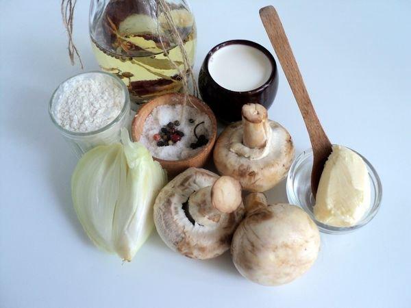 грибной соус к мясу рецепт с фото