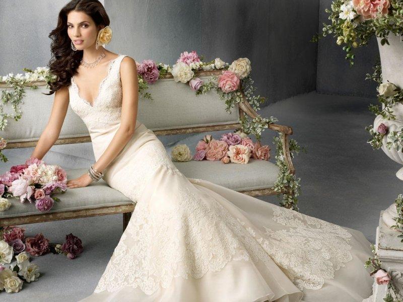 Какого цвета купить свадебное