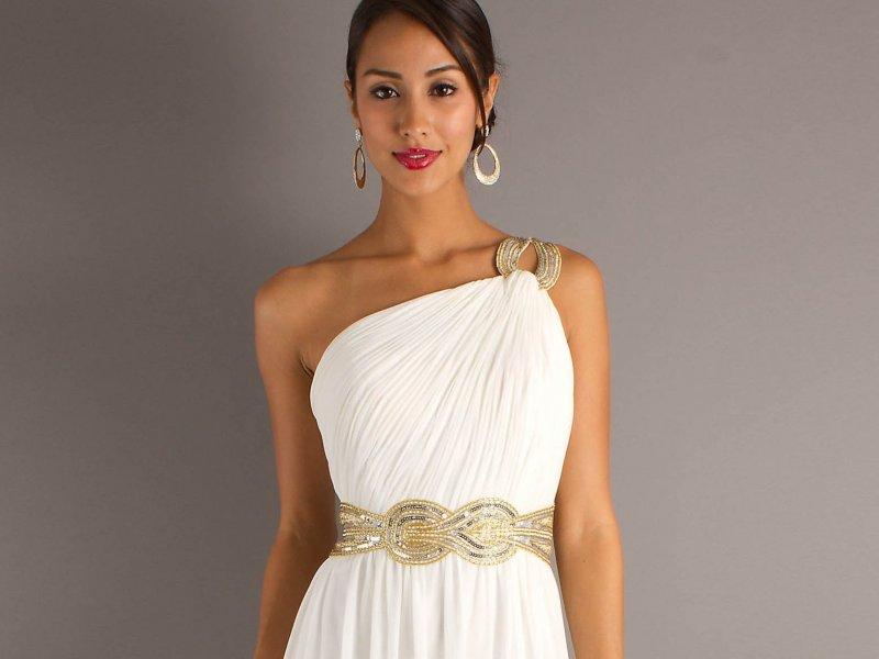 платья греческие свадебные фото
