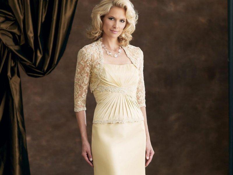 Платья на свадебное торжество для мамы