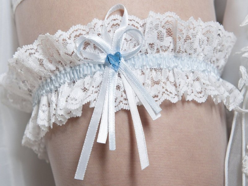 Подвязка невесты своими руками из кружева