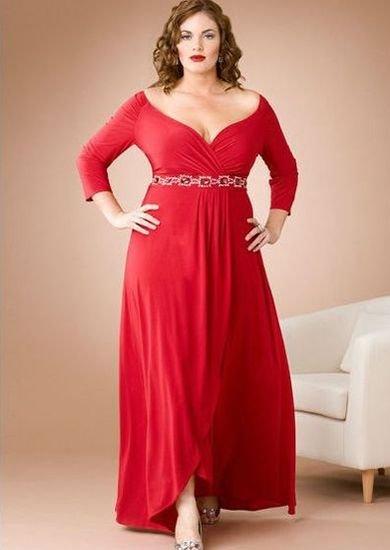 Платья с кружевной отделкой для полных фото