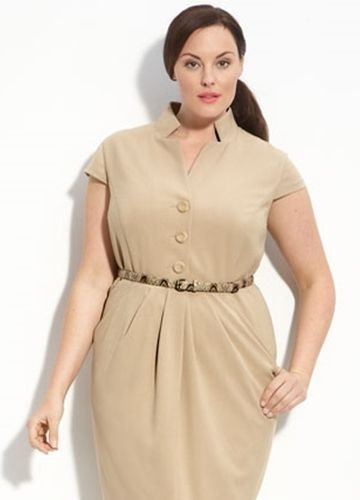 Повседневная одежда для полных женщин