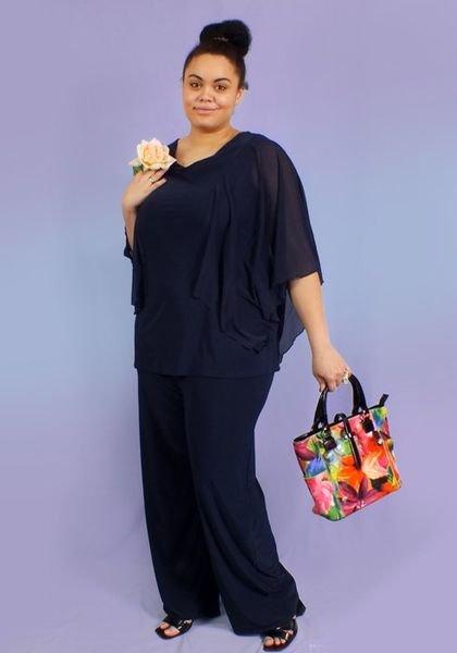 Осень Красивая Одежда Для Полных Женщин Купить