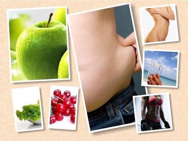 как убрать жир с живота малышева