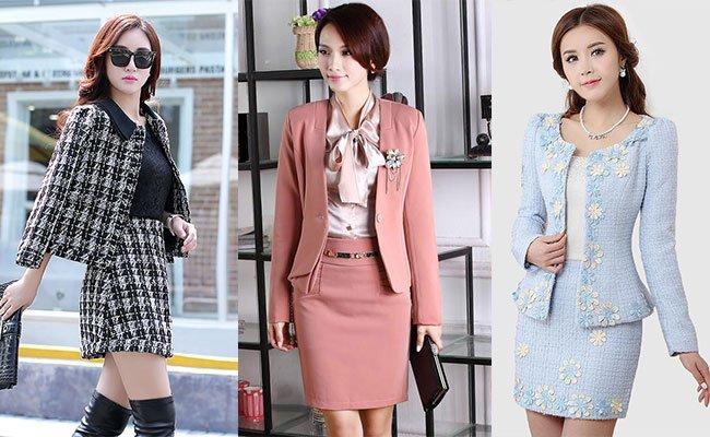 Модные деловые юбки фото