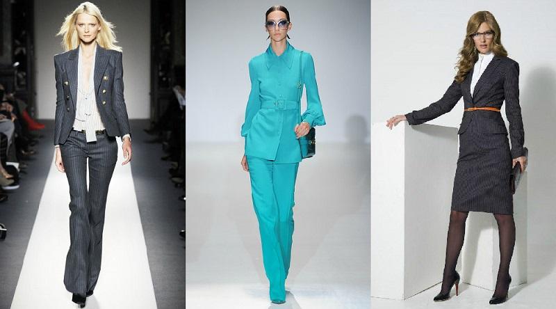 Новые модели женских костюмов доставка