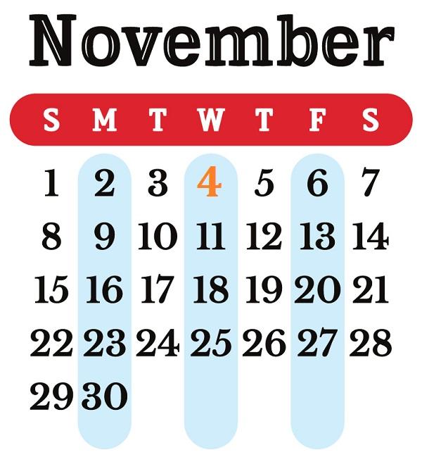 Календарь памятных событий на 2011 год
