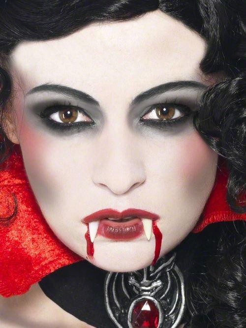 Мейкап вампира на хэллоуин