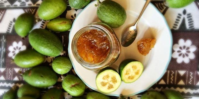 рецепт варенья из фейхоа на зиму на фруктозе