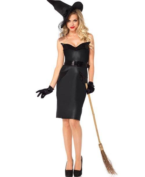 Как создать образ черным платьем