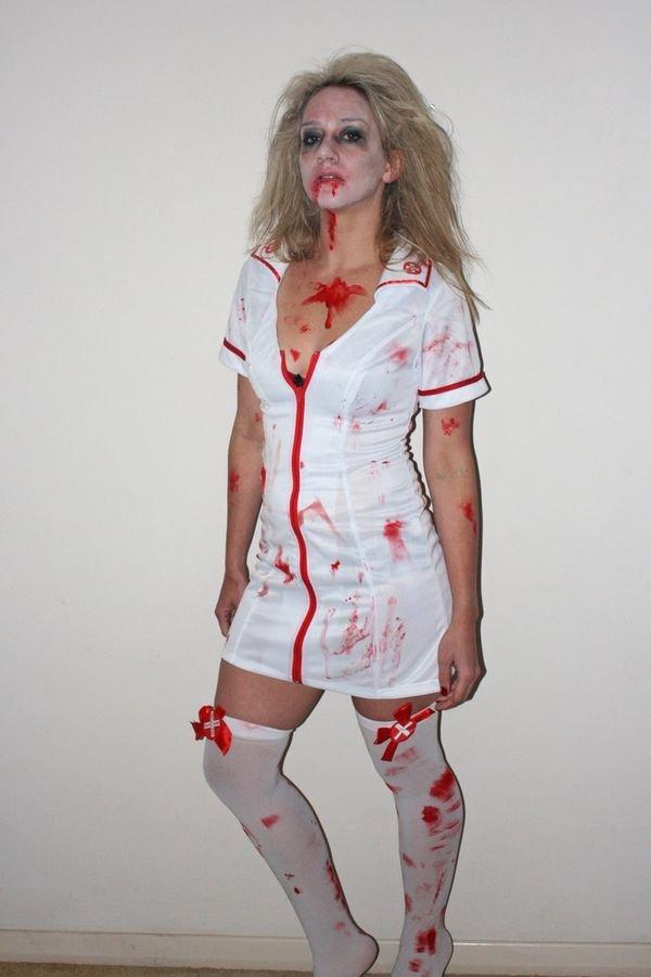 Костюм медсестры на хэллоуин фото