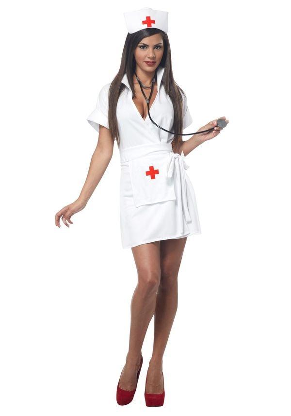 Сексуальные медсёстры в халатах