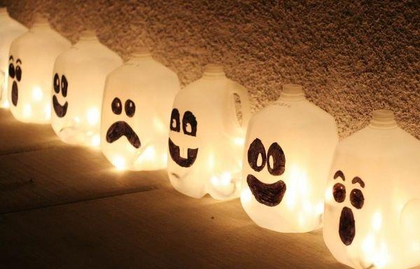 Декор для комнаты на хэллоуин своими руками