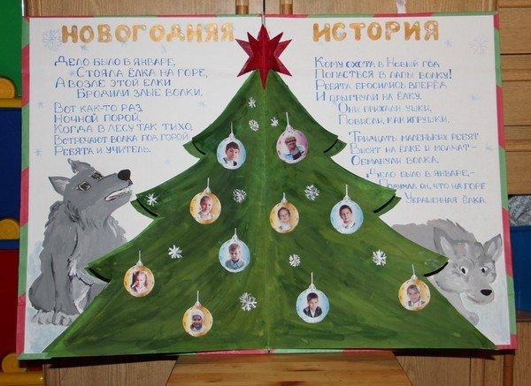 Фото новогодних плакатов своими руками
