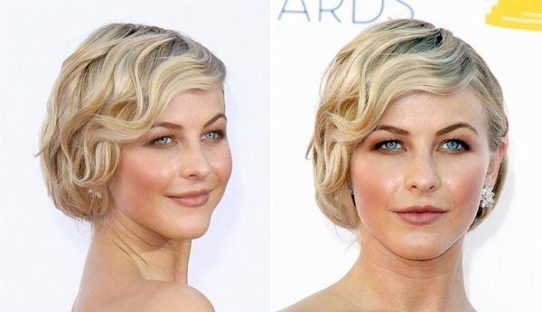 Укладки на средние волосы 36