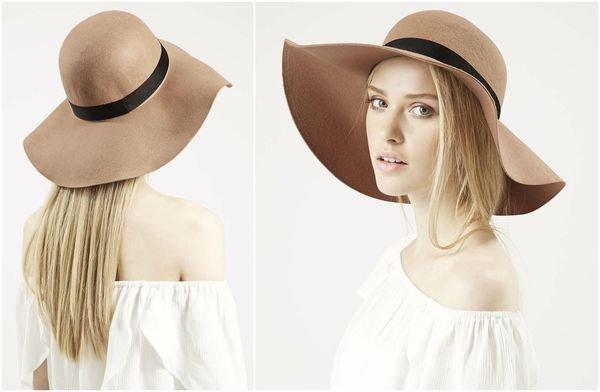 Женские шляпы, осень 2015