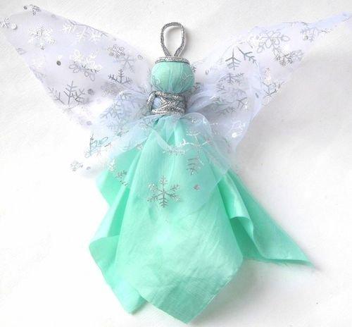 Ангел для сада своими руками мастер класс