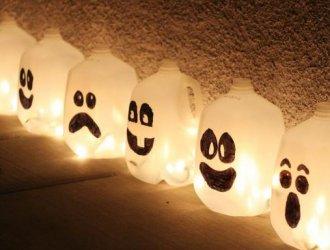 Украшения на Хэллоуин своими руками