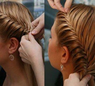 Как в домашних условиях сделать вечернюю прическу на средние волосы