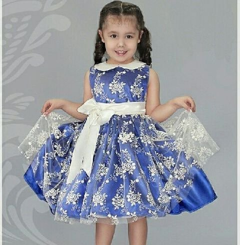 Красивые платья 4 года