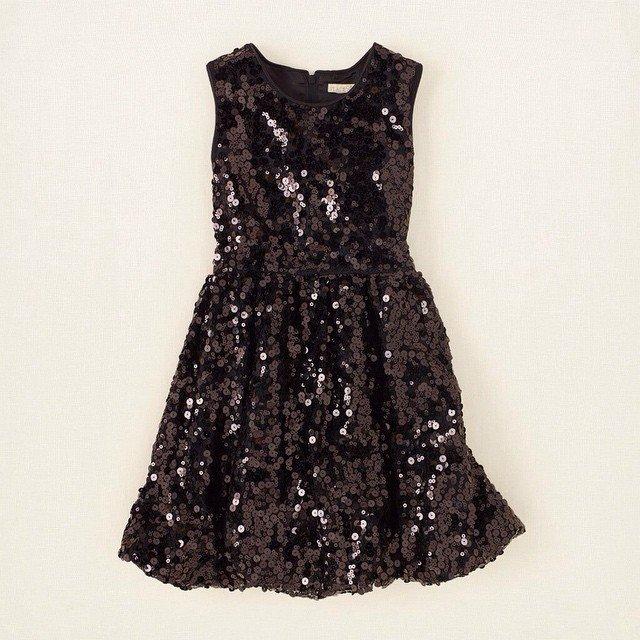 Черное платья для 10 лет