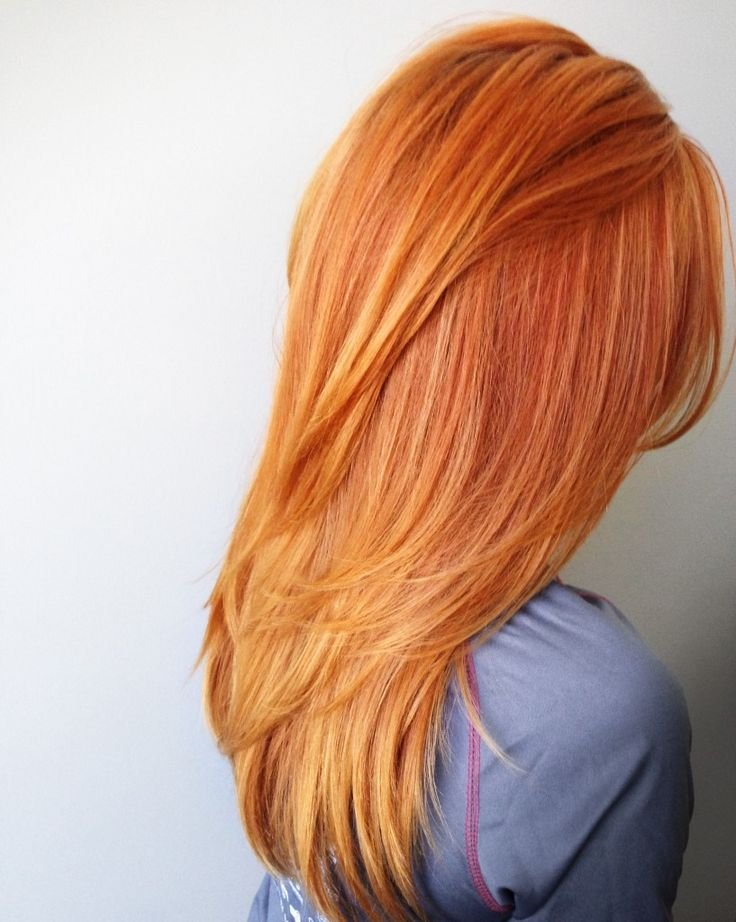 Модный цвет для блондинок