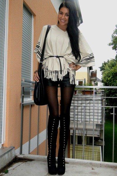 Фото женщины в высоких сапогах — photo 7