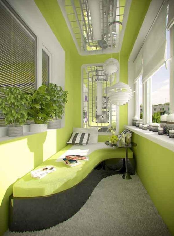 Панорамное остекление балкона дизайн