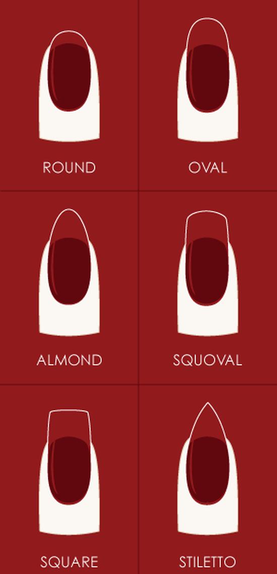 Как придать квадратную форму ногтям
