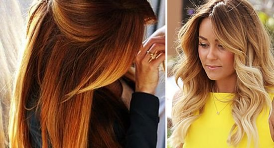 Покраска волос как называется